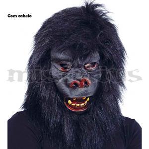 Máscara Gorila Cabeludo