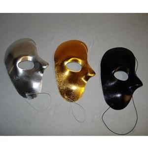 Máscara Meia Face Metalizada