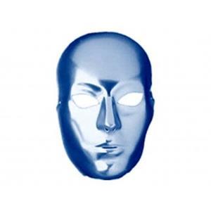 Máscara Metalizada Azul