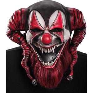 Máscara Palhaço Demoniaco