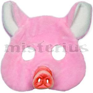 Máscara Porquinho Peludo