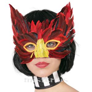 Mascara Veneziana com Penas