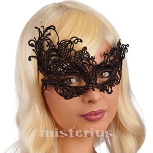 Máscara Veneziana Renda Preta