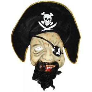 Máscara de Pirata com Chapéu