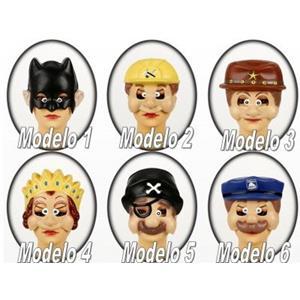 Mascaras Várias Personagens em Plástico
