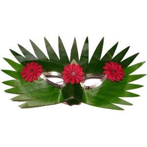 Mascarilha Hawai com Flores