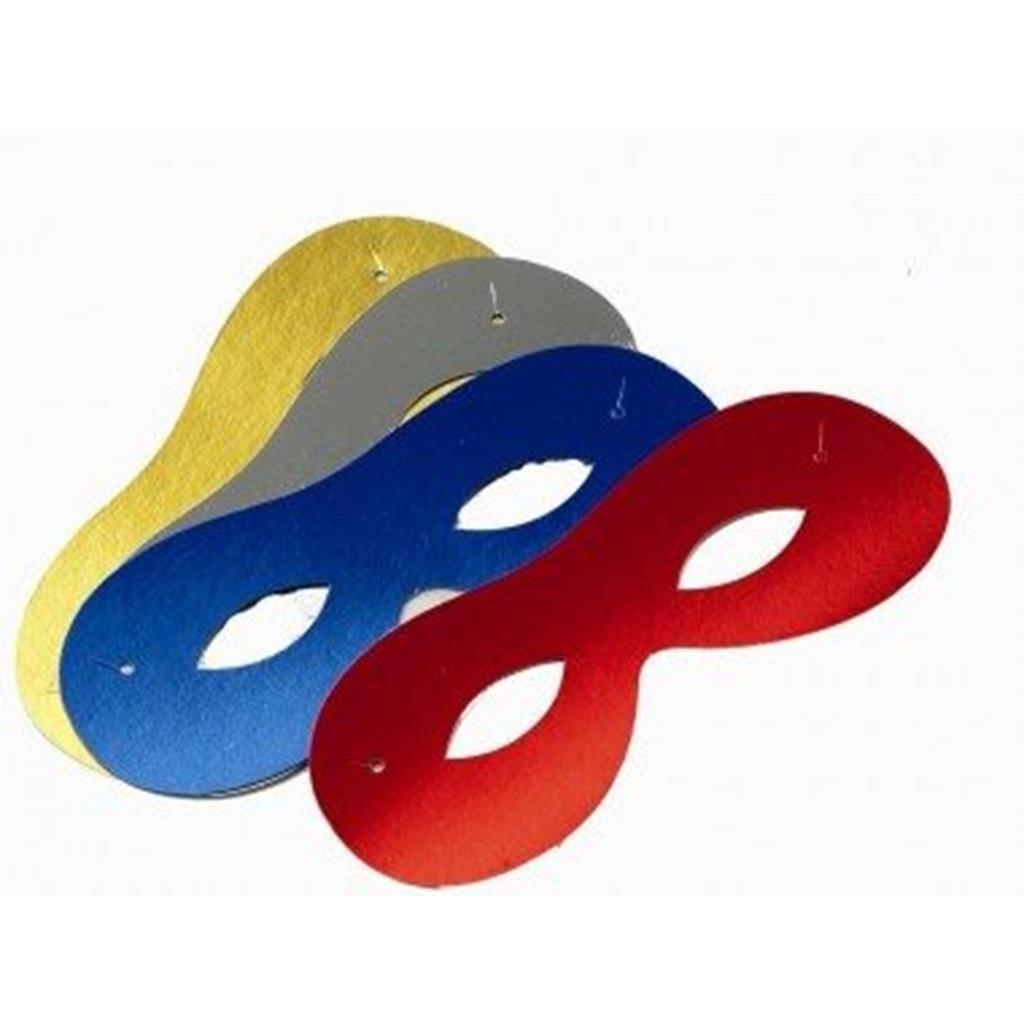 Mascarilha redonda Metalizada