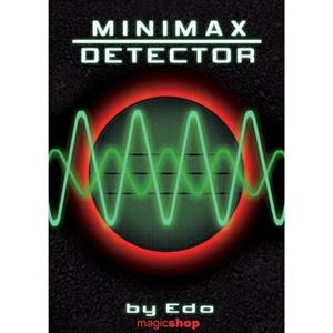 Minimax detetor de  (Gimmick and DVD) by Edo - DVD