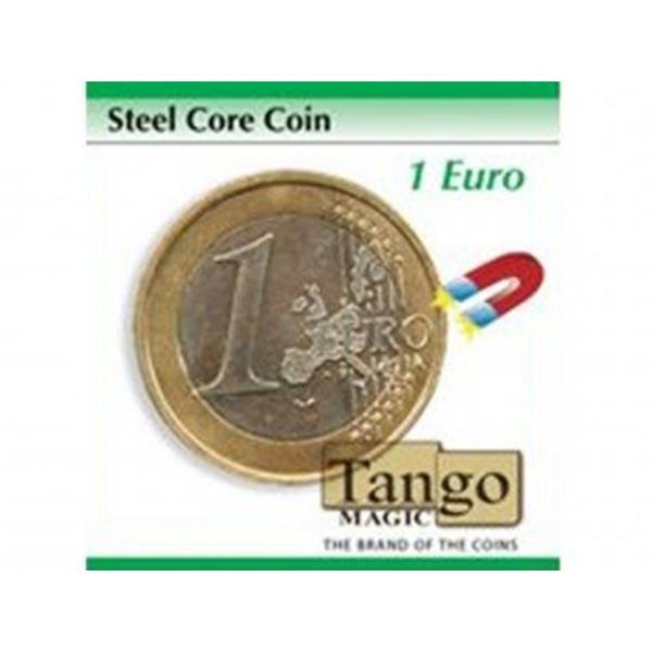 Moeda de Couro e metal 1EUR- Steel core coin 1EUR (Tango Mag