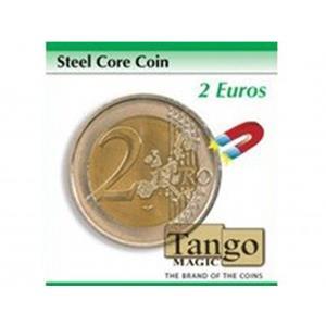 Moeda de Couro e metal 2EUR- Steel core coin 2EUR (Tango Mag