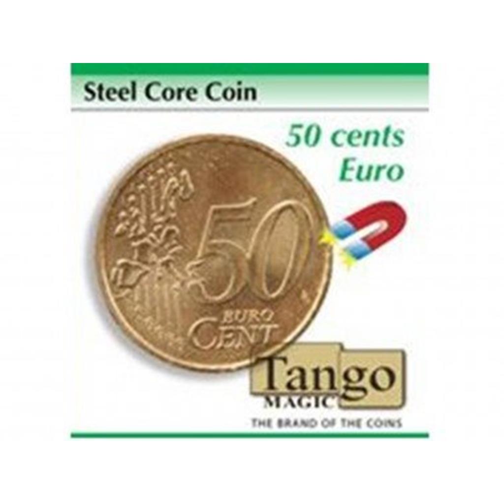 Moeda de Couro e metal 50/C - Steel core coin 50/C (Tango Ma