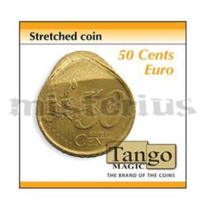 Moeda esticada de 50 cêntimos-Stretched coin 50 cents (Tango
