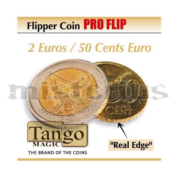 Moeda Flipper ProFlip 2EUR/50cents-Flipper Coin Pro Flip ;