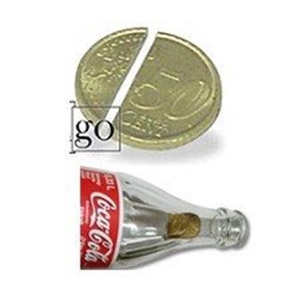 Moeda que entra na Garrafa  0,50 Euro