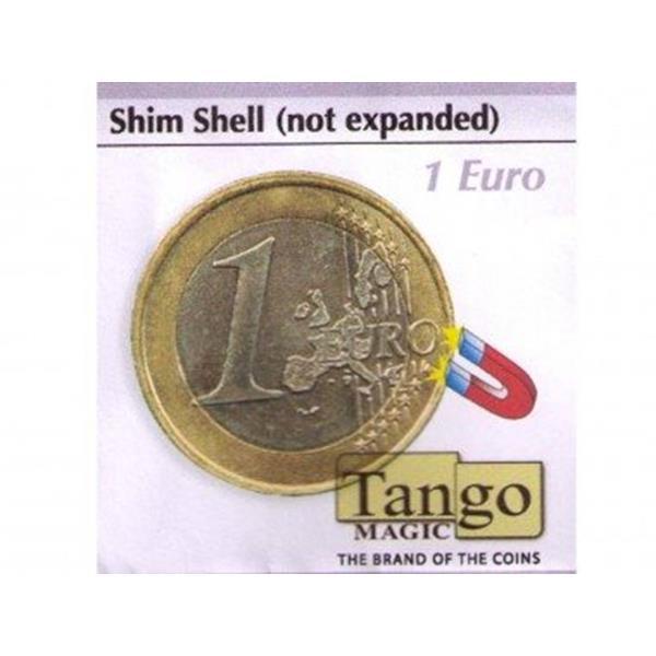 Moeda Transformada de Ferro 1 Euro-Shim Shell 1 Euros ;
