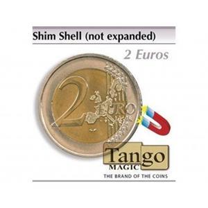 Moeda Transformada de Ferro 2 Euros - Shim Shell 2 Euros;