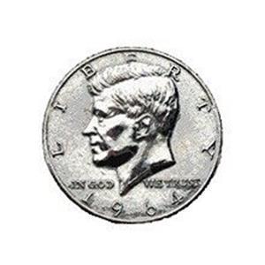 Moedas Jumbo (7,5 cm) Meio Dólar;