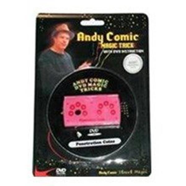 Moedas Penetração com dvd-Andy Comic;