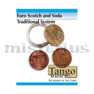Moedas Scotch and Soda by Tango Magic Euro Tradicional 0,50E