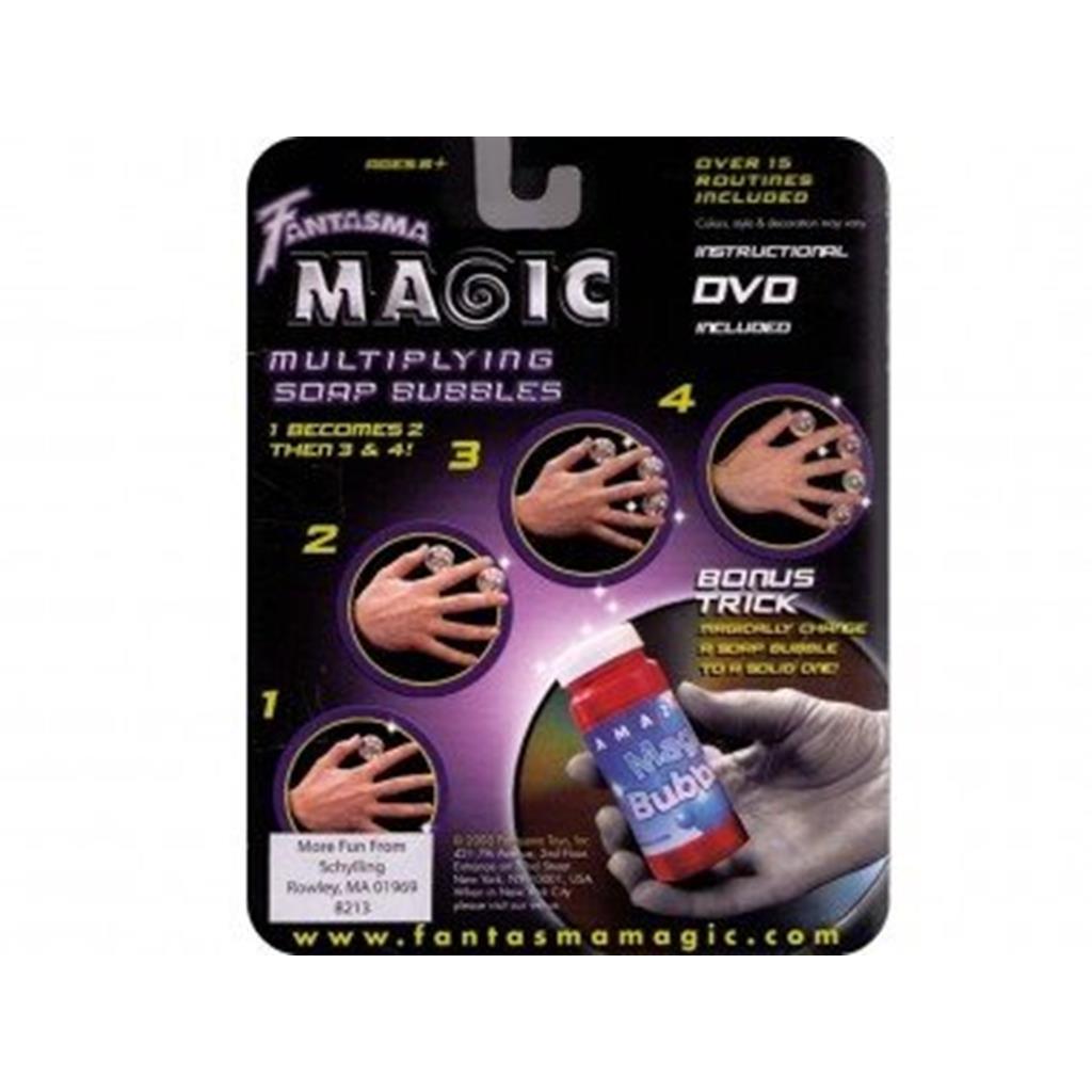 Multiplicação de Bolas Sabão com Dvd Multiplying Soap Bubble
