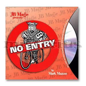 No Entry com Dvd - JB Magic