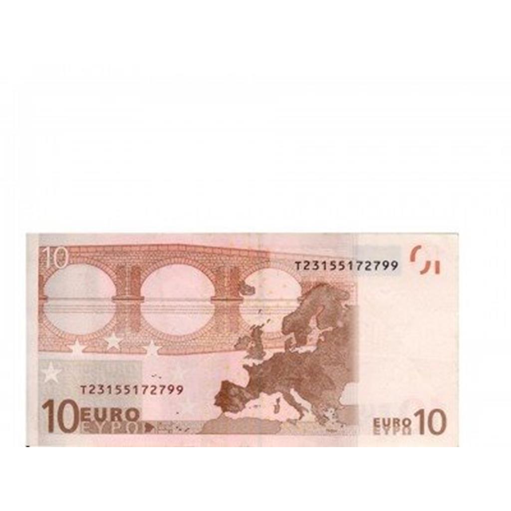 Notas Papel Flash 10 euros, 10 unid.