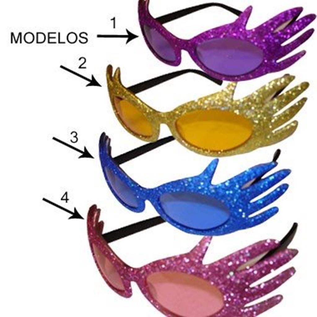 Óculos de Carnaval - Fantasia Colorida