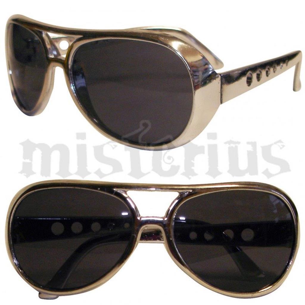 Óculos Elvis Prateados