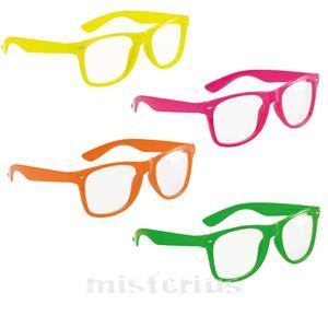 Óculos Fluorescentes Com Lentes