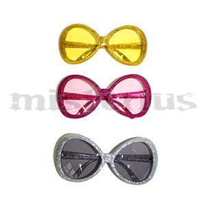 Óculos Purpurinas Redondos
