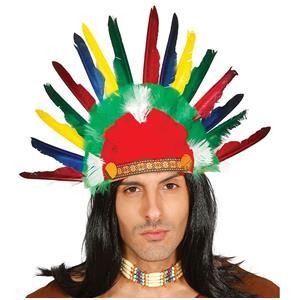 Penacho Colorido Indio