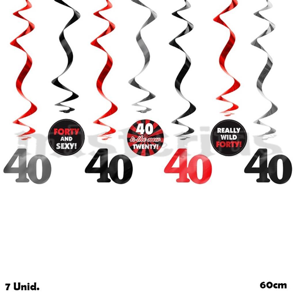 Pêndulos 40 Anos, 7 Unid.