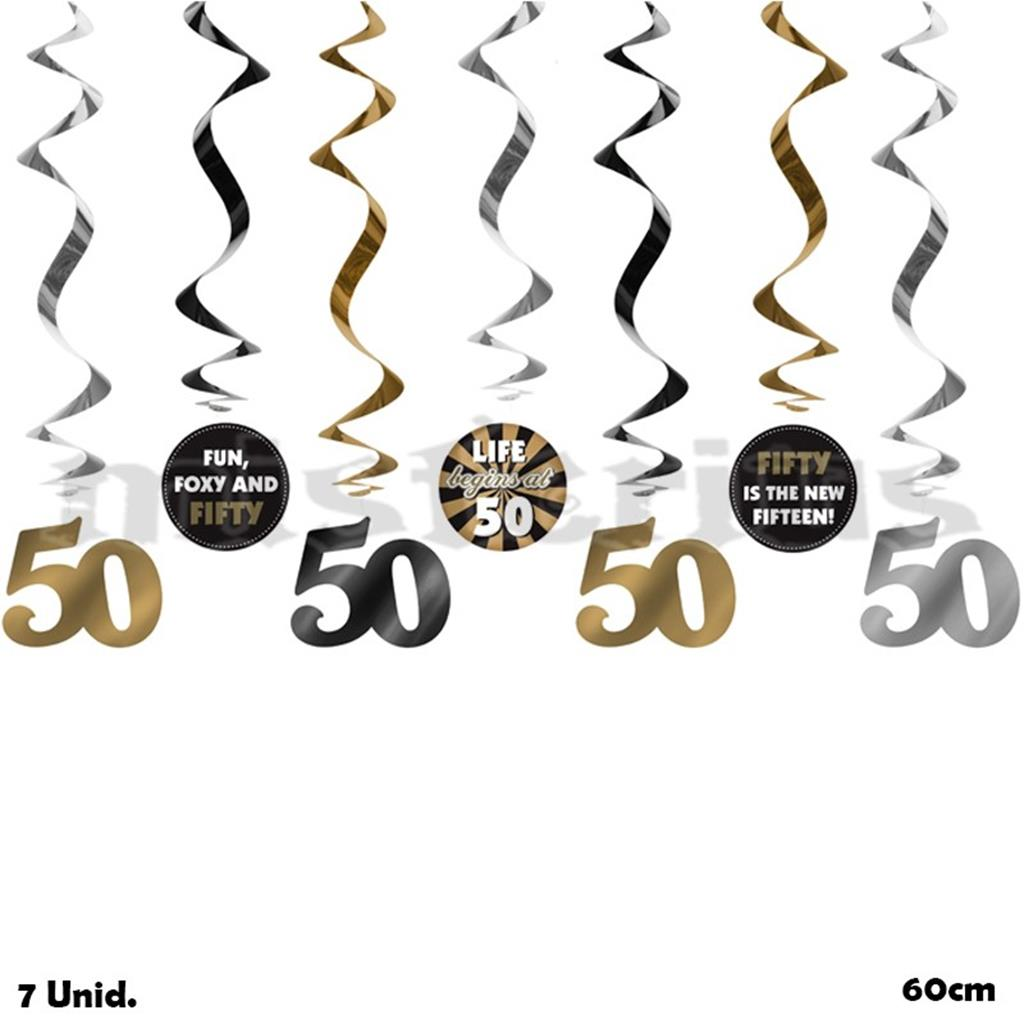 Pêndulos 50 Anos, 7 Unid.