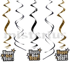 Pêndulos Happy New Year
