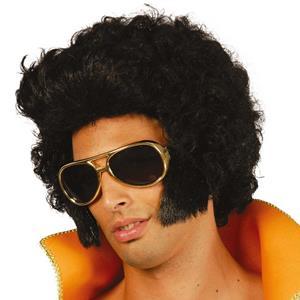 Peruca Anos 60 Elvis