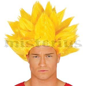 Peruca Goku Super Guerreiro