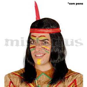 Peruca Indio Comprida