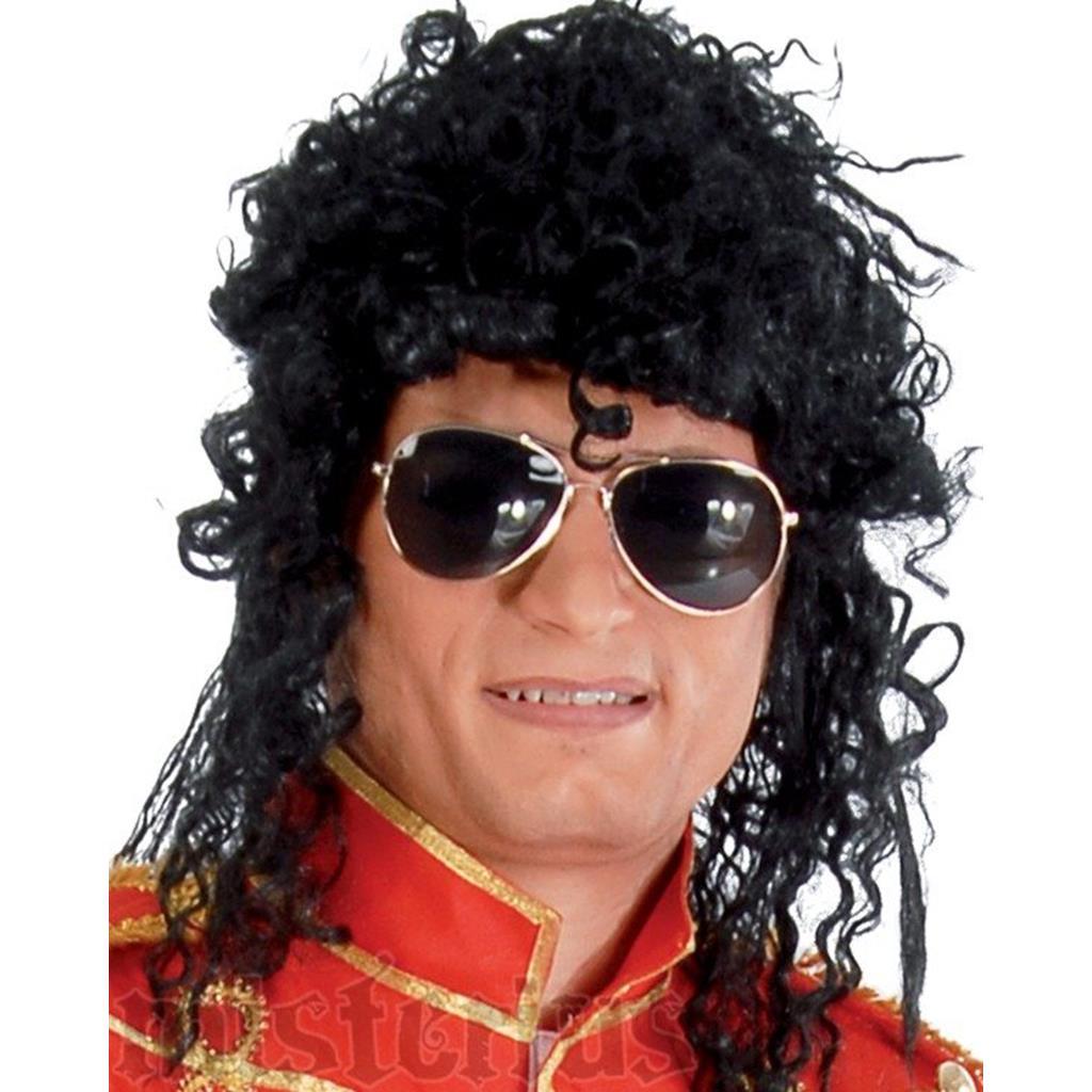 Peruca Michael Jackson Encaracolada