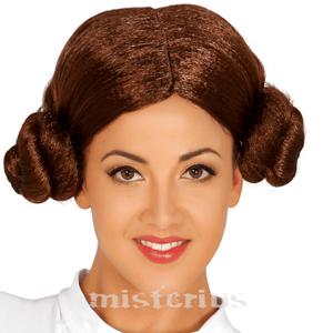 Peruca Princesa Leia