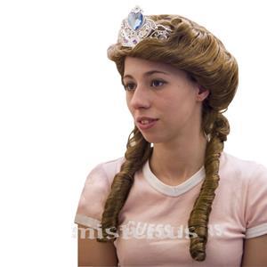 Peruca Rainha Canudos com Coroa