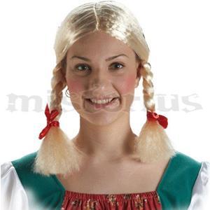 Peruca Tranças Tirolesa