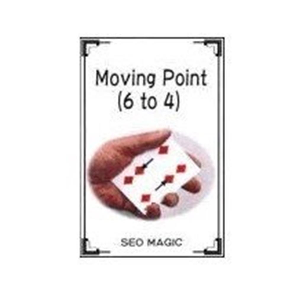 Pontos que se movem 6 para 4 - by Seo Magic