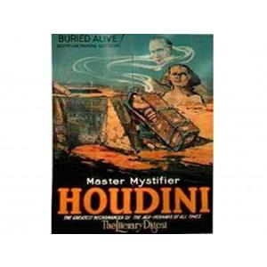 Posters Houdini Buried Alive ;