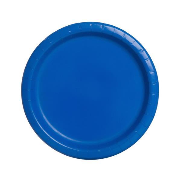 Prato Papel Azul Escuro Peq. 20unid