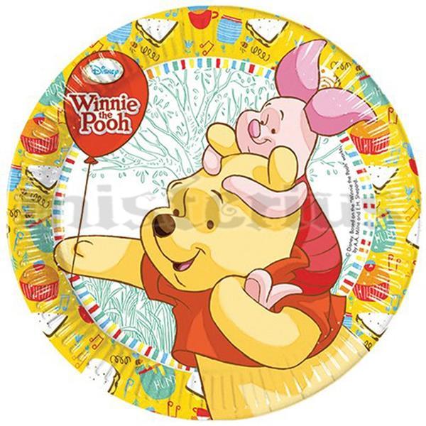 Prato Winnie The Pooh, 8 Unid.