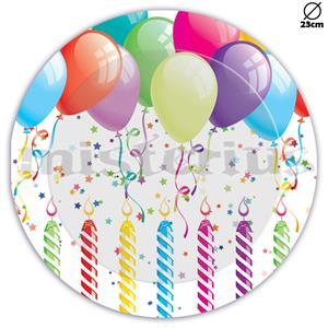 Pratos Happy Birthday