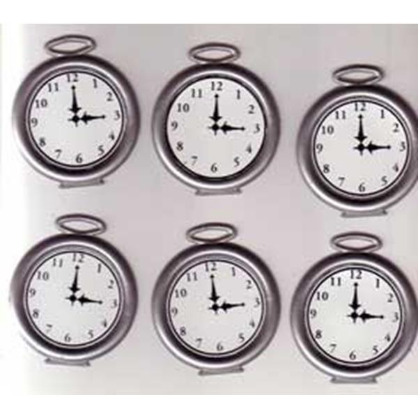 Relógio de Bolso Multiplicação, PRODUCTION WATCHES 6 Plastic