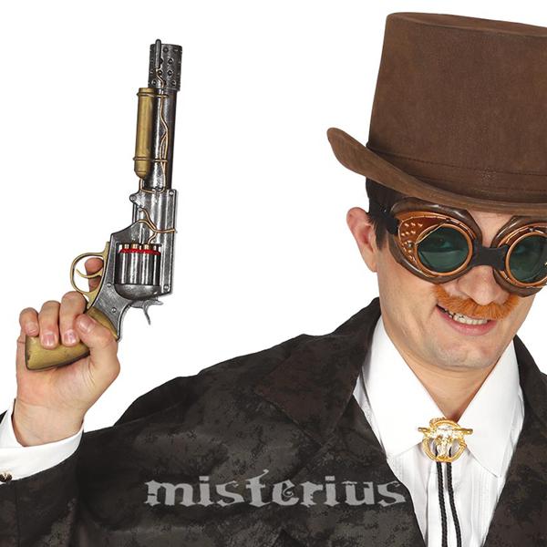 Revolver Steampunk, 30 cm