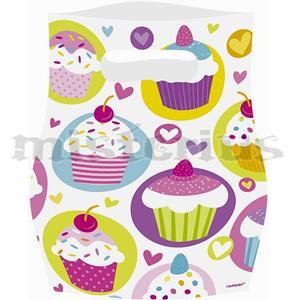 Sacos Cupcake, 6 Unid.