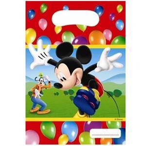 Sacos Mickey, 6 unid.